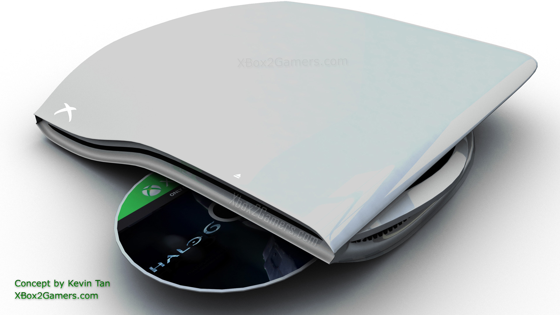 Xbox In The Future : Xbox console concept by kevin tan