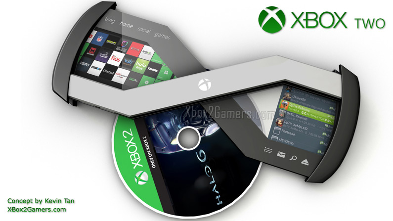XBox 2 quotXquot Concept by Kevin TanXbox 2