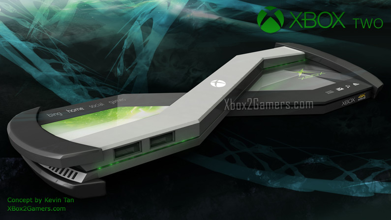 XBox 2 Concept with background