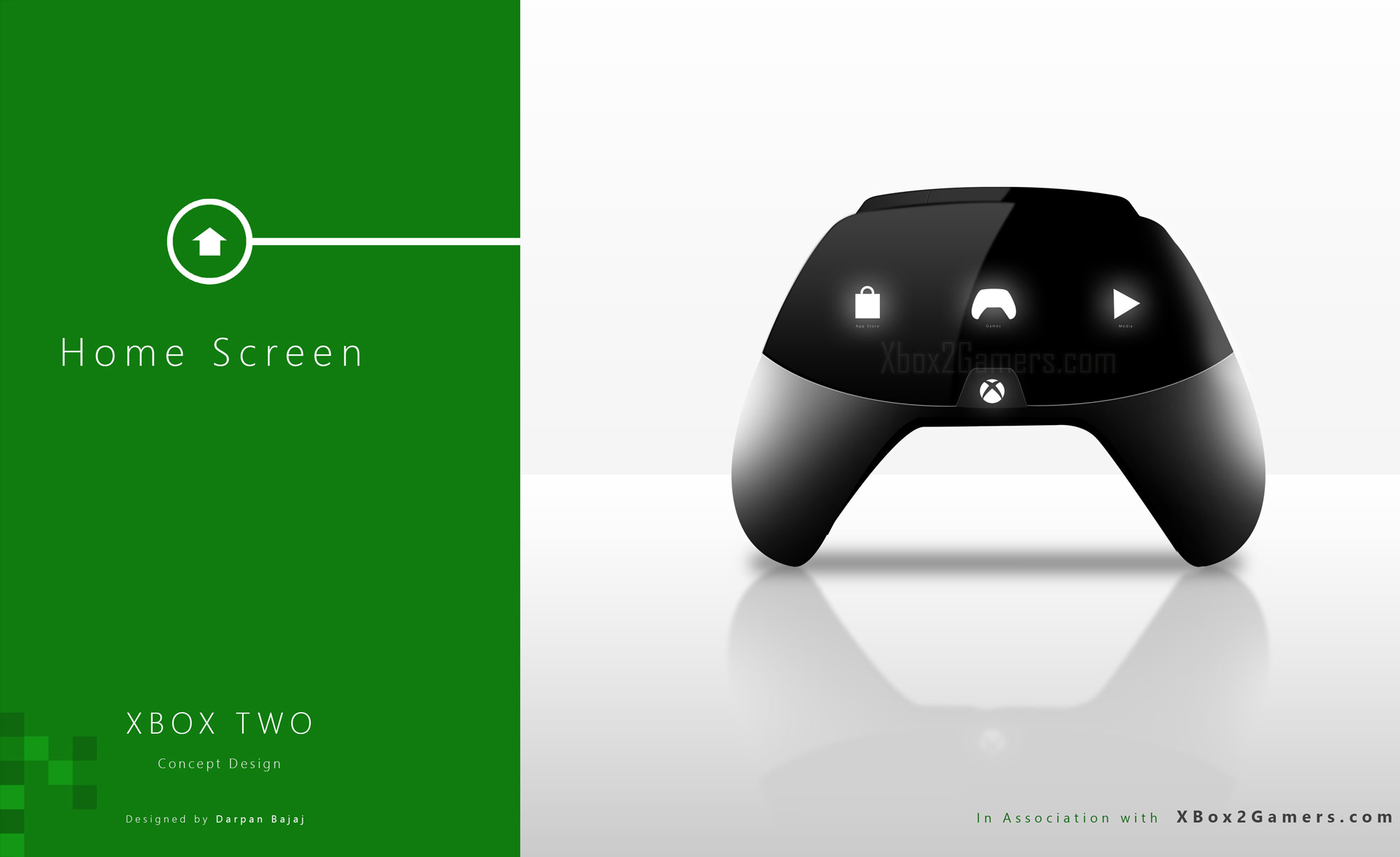 Best Xbox Controller >> XBox 2 Controller Concepts by Darpan Bajaj