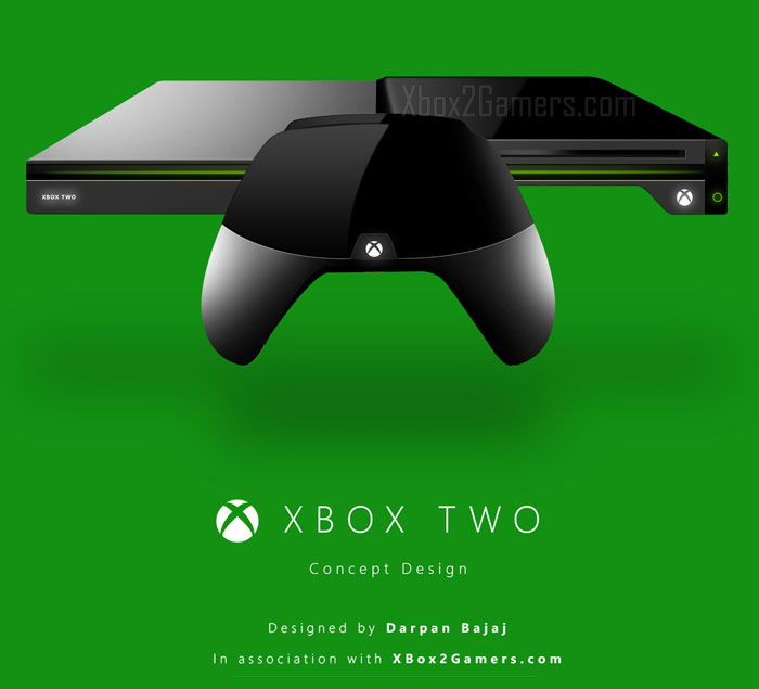 XBox 2 Console And Controller Concepts By Darpan Bajaj