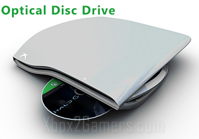 Xbox Two optical disc drive